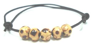 Wooden anklet jewellery