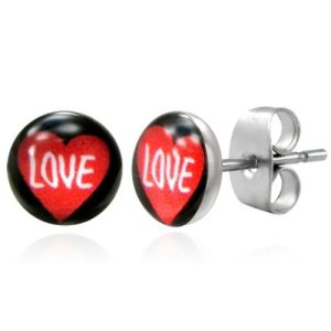 Stud Earrings at Spoil Me Silly .Com jewellery  LEB095