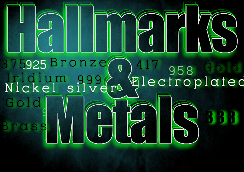 Hallmark and Metal meanings
