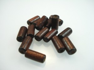 brown Wood Beads