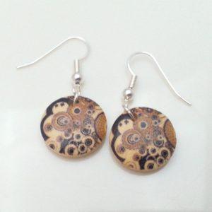 ERW.006 a wood earrings