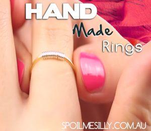 Hand Made rings