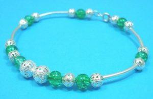 Fashion-Jewellery-Glass-Filigree-Beaded-Bracelet-Bangle-150522288772-2