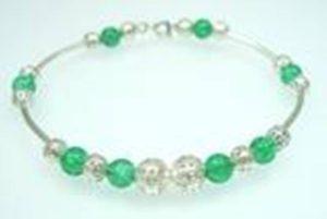 Fashion-Jewellery-Glass-Filigree-Beaded-Bracelet-Bangle-150522288772-5