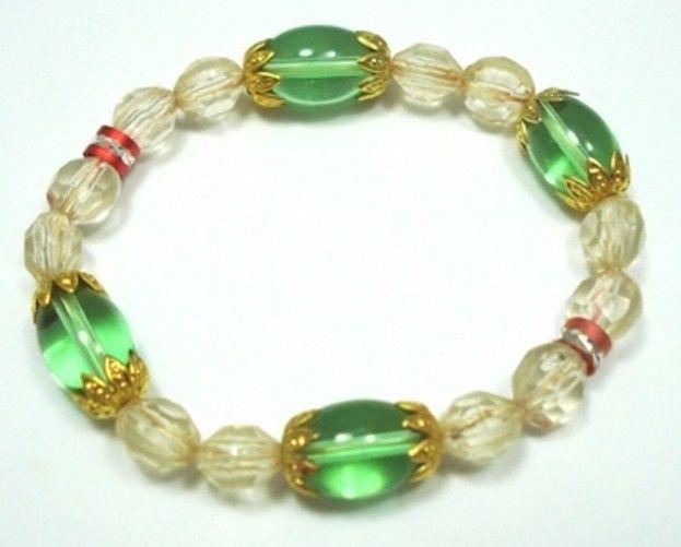 Fashion-Jewellery-Glass-Filigree-Beaded-Bracelet-Bangle-150524324276