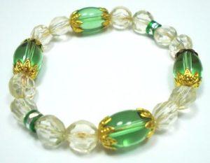 Fashion-Jewellery-Glass-Filigree-Beaded-Bracelet-Bangle-400175719977