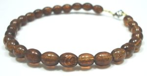 Glass-Beaded-Jewellery-Bracelet-Bangle-New-Fashion-in-Brown-400482299688-2