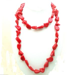 Jewellery-Resin-Extra-Long-48-Red-Necklace-Large-Bracelet-Anklet-Ribbon-New-400740944699-5