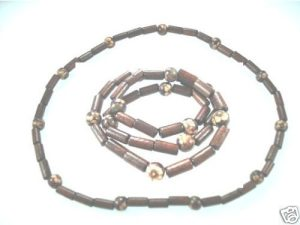 NEW-MENS-WOMENS-BEADED-WOOD-COCO-SURF-WOODEN-NECKLACE-150397303207