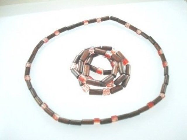 NEW-MENS-WOMENS-BEADED-WOOD-COCO-SURF-WOODEN-NECKLACE-150397303555