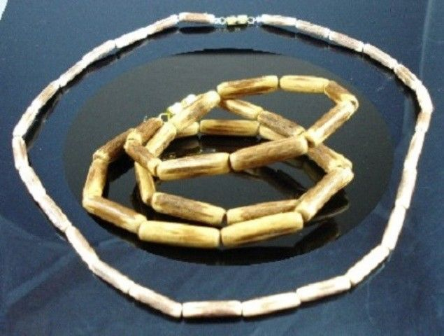 NEW-MENS-WOMENS-BEADED-WOOD-COCO-SURF-WOODEN-NECKLACE-400053328773