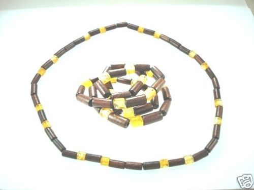 NEW-MENS-WOMENS-BEADED-WOOD-COCO-SURF-WOODEN-NECKLACE-400091507857