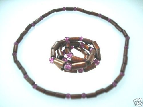 NEW-MENS-WOMENS-BEADED-WOOD-COCO-SURF-WOODEN-NECKLACE-400091508025