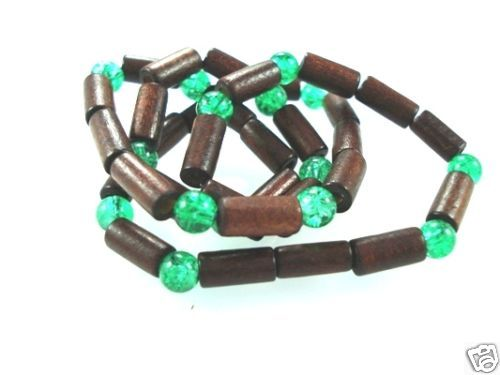 NEW-MENS-WOMENS-BEADED-WOOD-COCO-SURF-WOODEN-NECKLACE-400091508315