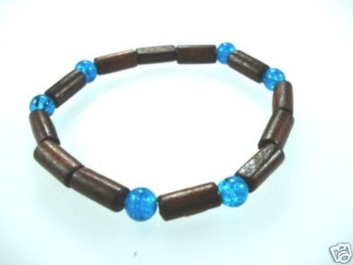 NEW-WOMENS-BEADED-WOOD-COCO-SURF-WOODEN-BRACELET-BANGLE-150397301936-2