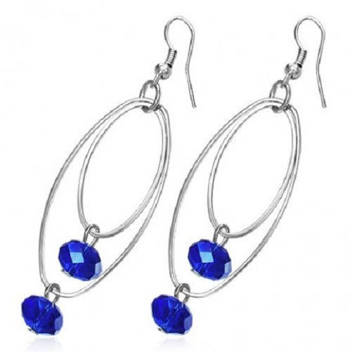 New-Crystal-Blue-Fashion-Glass-Jewelry-Pair-of-Earrings-Spoil-Me-Silly-Jewellery-150528625495