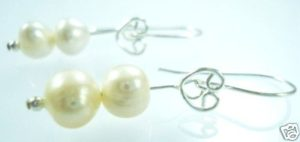 STERLING-SILVER-925-FRESH-PEARL-BEADED-GEM-EARRINGS-NEW-150397302395