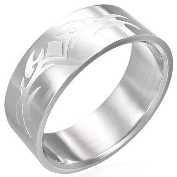 Stainless-Steel-ETCHED-Tattoo-Unisex-9-R12-Ring-NEW-400067299365