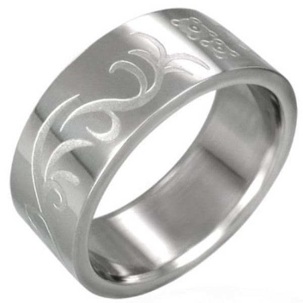 Stainless-Steel-VINE-SWIRL-UNISEX-Mens-or-Womens-SIZE-Ring-NEW-and-Cheap-400482784221