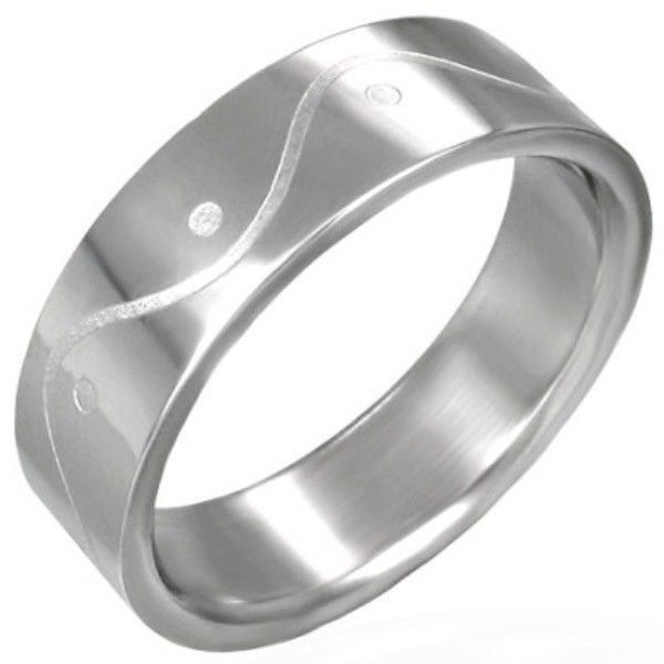 Stainless-Steel-Wave-ETCHED-Unisex-Mens-or-Womens-SIZE-Ring-NEW-400482774655