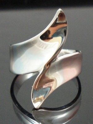 Sterling-Silver-925-Modern-Funky-Ring-New-400482339054