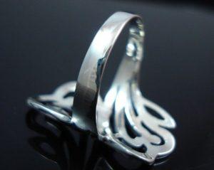 Sterling-Silver-925-Size-6-L-12-Boho-Swirl-HEART-Ring-400053508103-4