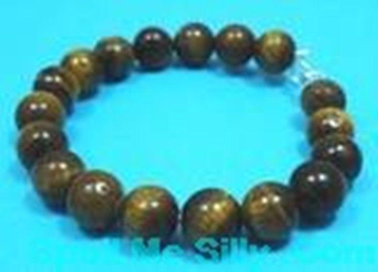 Sterling-Silver-Tiger-Eye-Gem-Stone-Bangle-Bracelet-New-400176020997-2