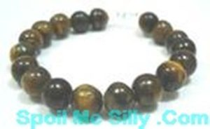 Sterling-Silver-Tiger-Eye-Gem-Stone-Bangle-Bracelet-New-400176020997